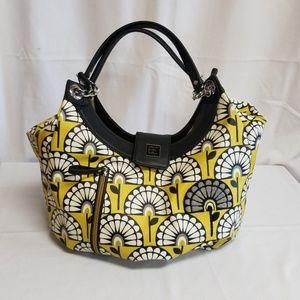 Yellow Diaper Bag Venturing inVienna Hideaway Hobo